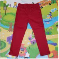 Calça Vermelha Pool Kids - 4 anos - Pool Kids
