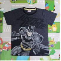 Camiseta do Batman - 6 anos - Justice League