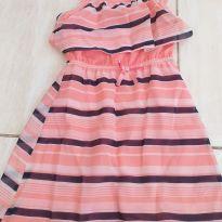 Vestido rosa - 6 anos - Nautica