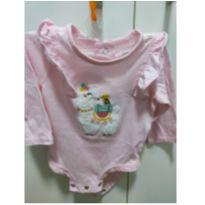 Body Lhama - Carters - 3 meses - Carter`s