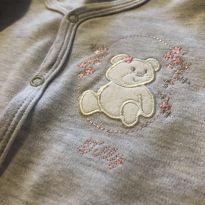 Macacão cinza ursinha - 9 a 12 meses - Tilly Baby