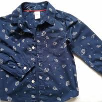 Camisa manga longa Carter`s tam. 24meses - 18 a 24 meses - Carter`s