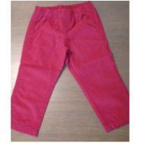 Calça vermelha Carter`s tam.24m - 2 anos - Carter`s
