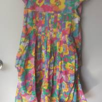 Vestido Estiloso Semi Balonê Primavera Girl - 6 anos - Yeapp e pernambucanas