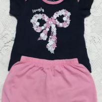 Conjunto Lacinho - 9 a 12 meses - Basic + Baby
