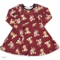 Vestido Pituchinhus - 3 anos - Pituchinhus