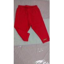 Calça tipo corsário vermelha - 9 a 12 meses - Hello  Kitty