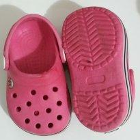 Babuche tipo crocs rosa - 19 - Yuupii