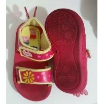 Sandália tipo papete Peppa - 20 - Grendene