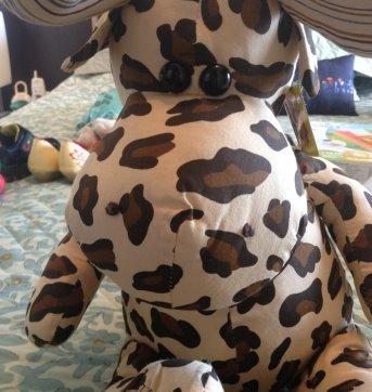 Girafa de pano - Sem faixa etaria - Fofy Toys