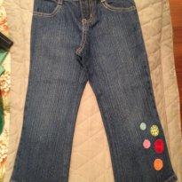 Calça jeans Gymboree - 3 anos - Gymboree