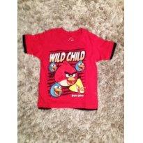 Camiseta Angry Birds - 5 anos - Angry Birds
