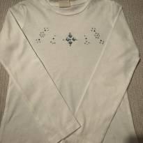 Camiseta Zara com pedrarias - 5 anos - Zara
