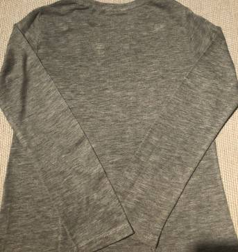 Camiseta cinza com pedrarias Zara - 6 anos - Zara