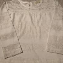 Blusa rendada Zara - 3 anos - Zara