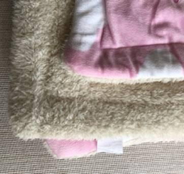 Cobertor Minnie - Sem faixa etaria - Não informada