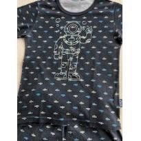 Pijama astronauta Kily - 4 anos - Não informada
