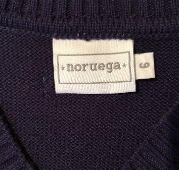 Colete Noruega - 6 anos - Noruega Baby