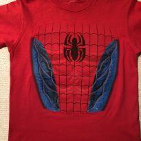 Camiseta Homem Aranha com peitoral - 5 anos - Universal Studios