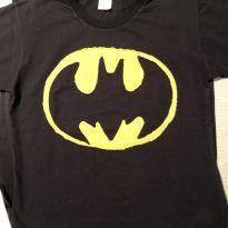 Camiseta Batman com capa - 6 anos - Tchunga Marepunga