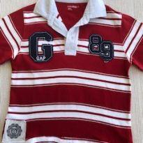 Camisa Baby Gap listrada - 4 anos - Baby Gap
