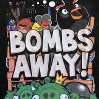 Camiseta Angry Birds preta - 4 anos - Renner