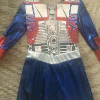 Vestido-fantasia Transformers - 4 anos - Transformers