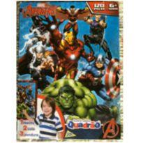 Quebra cabeça Quadrão Avengers -  - Jak