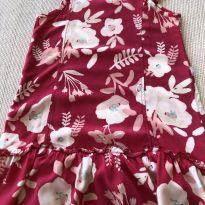 Vestido Hering florido pink - 6 anos - Hering Kids