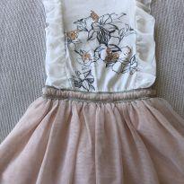 Vestido Zara composto - 5 anos - Zara