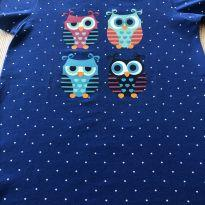 Camisola Puket corujinhas - 4 anos - Puket