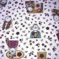 Kit de mantas de algodão -  - Sonhart e Be Litlle