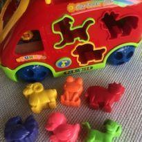 Brinquedo educativo Cartoon Bus -  - Não informada
