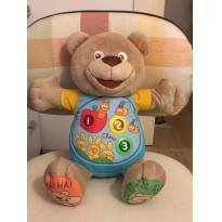 urso bilíngue chicco teddy