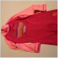 Macacão neoprene rosa - 9 meses - Tribord