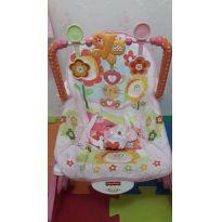 Cadeira Balanço Vibratória Rosa Bebê Conforto -  - Fisher Price