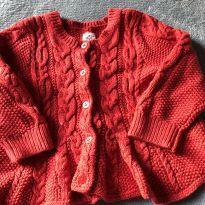 Casaco vermelho fofíssimo - 6 meses - Baby Gap