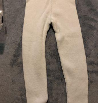 Calça leggings azul clarinho bem quentinha - 18 meses - Meny Doggy