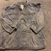 Linda bata jeans - 12 a 18 meses - H&M