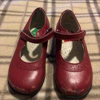 Sapato vermelho de couro - Marca Romy Lischewski - 22 - Importado