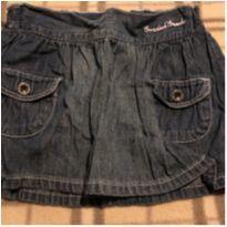 Saia jeans com calcinha - 12 a 18 meses - H&M