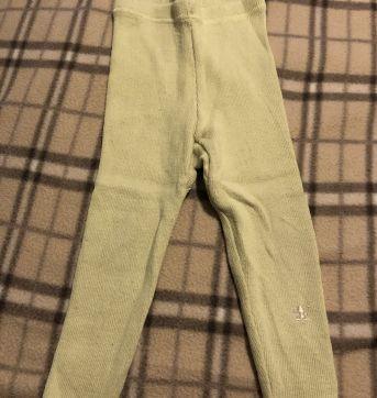 Calça leggings verde clarinha bem quentinha - 12 a 18 meses - Meny Doggy