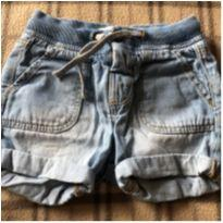 Bermuda  jeans molinha - 6 a 9 meses - Zara Baby