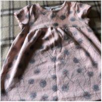 Lindo vestido rosado - 9 a 12 meses - Zara Baby
