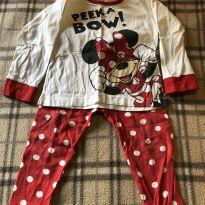 Pijama da Minnie Mouse - 1 ano - Disney