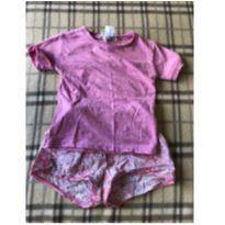 Lindo pijama rosa - 1 ano - Zara Home Kids