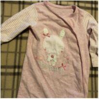 Pijama com pé - 9 a 12 meses - Mothercare