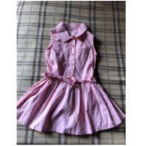 Lindo vestido rosa - 18 a 24 meses - Baby Club