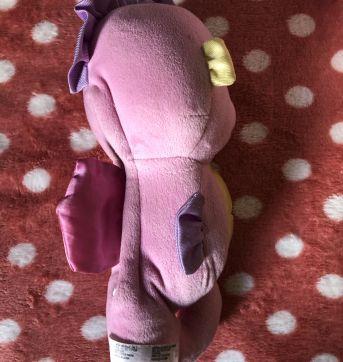 Cavalo marinho musical Fisher Price rosa - Sem faixa etaria - Fisher Price