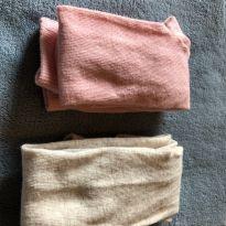 Lote de 2 meias calças de algodão importadas - tamanho 02 anos